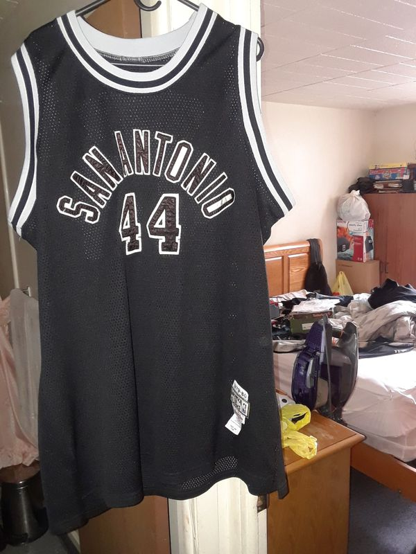 check out 08b82 fb198 Mitchellness ice man George Gervin spurs throwback jersey rare for Sale in  Detroit, MI - OfferUp