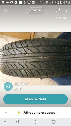 225/65r17 for Sale in New Baltimore, MI