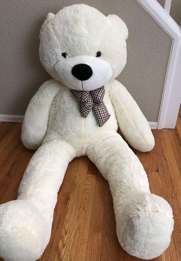White Giant Teddy Bear General In Lakewood CO