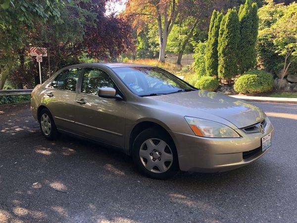2005 Honda Accord Lx Sedan Gold