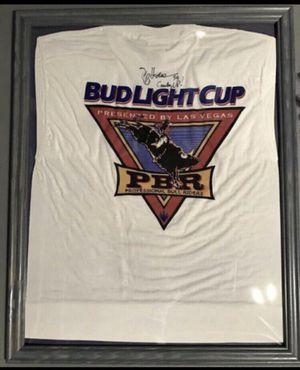 Autographed framed shirt for Sale in Manassas, VA