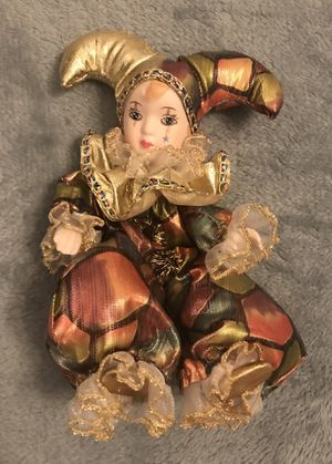 Small New Orleans Style Doll - porcelain and stuffed for Sale in Sterling, VA