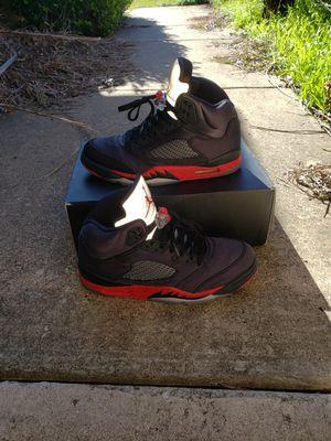 Photo Nike Air Retro Jordan 5 Satin