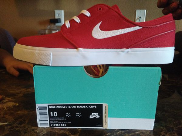 b720cea71dec5 Brand New Mint Nike Zoom Stefan Janoski Cnvs Red (Clothing   Shoes) in  Phoenix