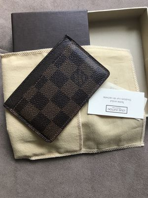 Louis Vuitton Card Holder Ebene Damier for Sale in Woodbridge, VA