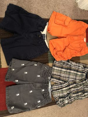 4 boys shorts size 4 all in good condition for Sale in Clayton, NC