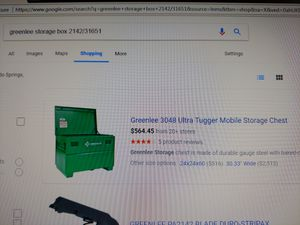 Greenlee storage box for Sale in CO, US