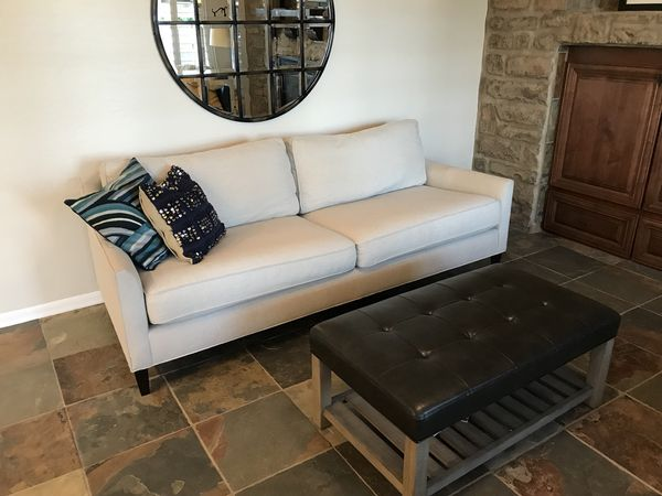 Brand New Pottery Barn Beverly Upholstered Sofa