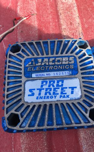 Jacobs Electronics Pro Street Pak Ignition Coil Energy Pak For Sale In Spanaway Wa Offerup
