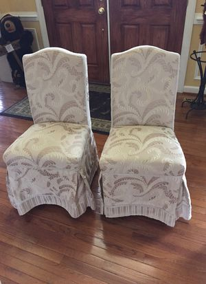 Two upholstered chairs for Sale in Boonsboro, MD