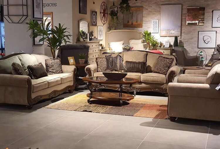 Briaroaks Mocha Living Room Set Sofa, loveseat & couch & sectional) ask price