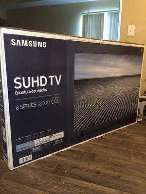 "Samsung UN65KS800D 65"" 4K SUHD Quantum Dot LED Smart TV 2160p *FREE DELIVERY* for Sale in Newcastle, WA"