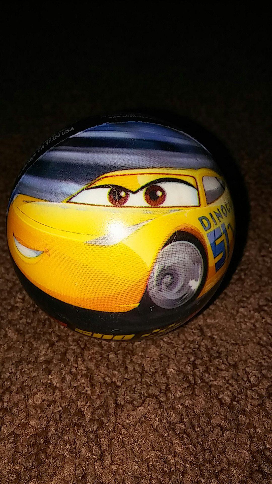 Disney Pixar Cars Cruz Ramirez ball