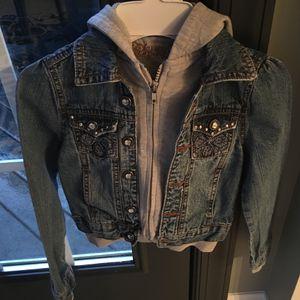 Girls size 7 jean jacket for Sale in Centreville, VA