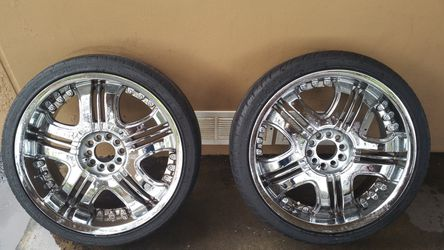 20inch chrome rims and tires Thumbnail