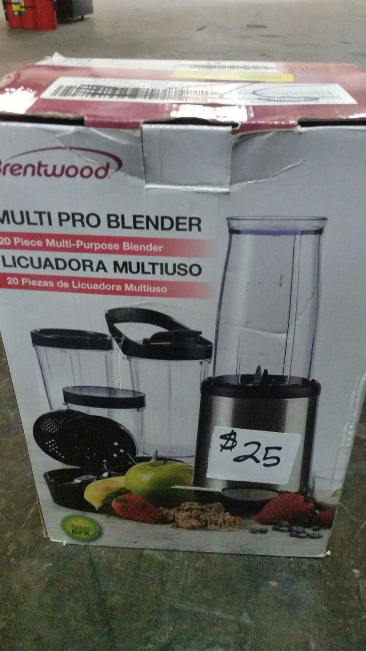 New brentwood multi pro blender