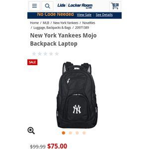 MOJO Yankee laptop backpack for Sale in Clovis, CA
