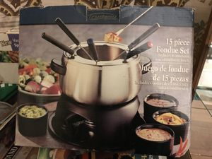 Trudeau Fondue Set for Sale in Denver, CO