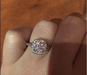 New 18 k White Gold Engagement ring wedding ring set for Sale in Orlando, FL