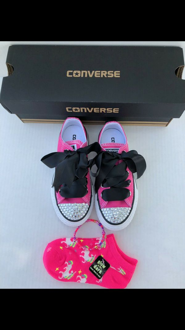 Girls Converse Size 11 for Sale in San Jose 85cbb2b32