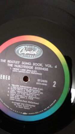 Original L.P (the Beatles..vol.4)..a good piece for collection.$75 Thumbnail