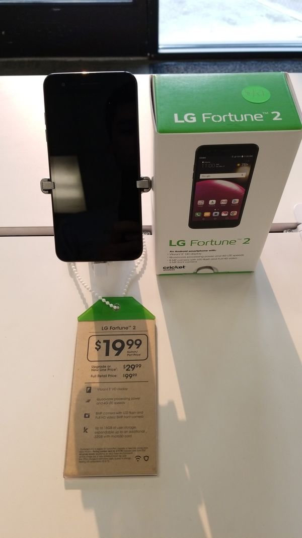 CRICKET LG FORTUNE 2 for Sale in Bellingham, WA - OfferUp
