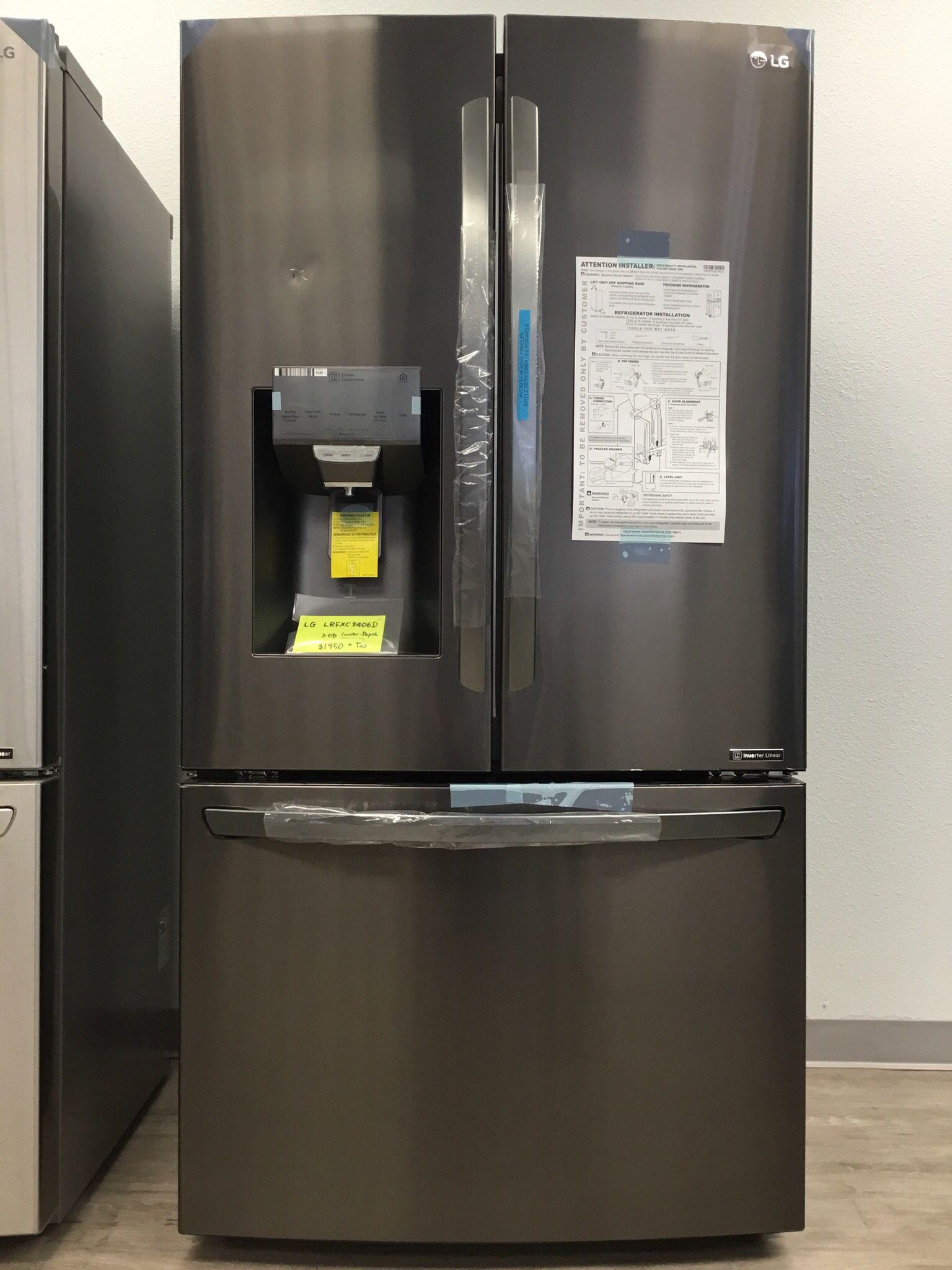 LG COUNTER-DEPTH / CRAFT ICE / Metal Interior / SMART HOME & WI-FI #2150