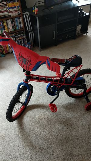 Spiderman Kids bike with training wheels. for Sale in Centreville, VA