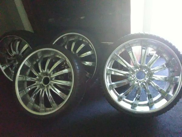 22 Inch Tires >> 22 Inch Rims Low Pro Tires Cheap For Sale In Houston Tx Offerup