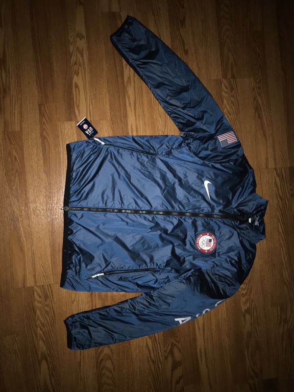 bedf426e8b44 Team USA Nike Lab 2018 Olympics Midlayer Jacket – Blue for Sale in ...