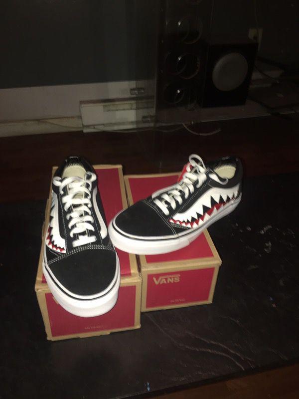 Old Skool Skate Vans Bape Custom For Sale In Philadelphia PA