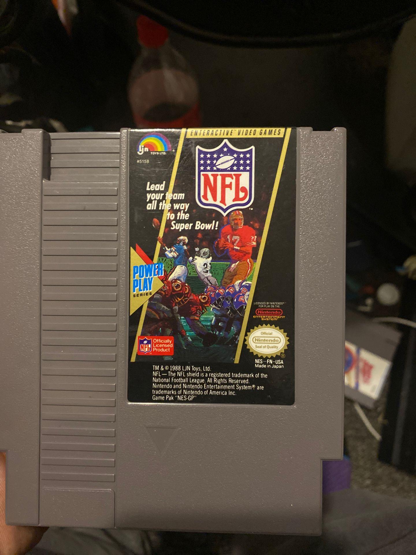 NFL Football NES 1988