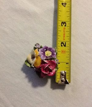 Crown Staffordshire England Floral Pin/Brooch for Sale in Aspen Hill, MD