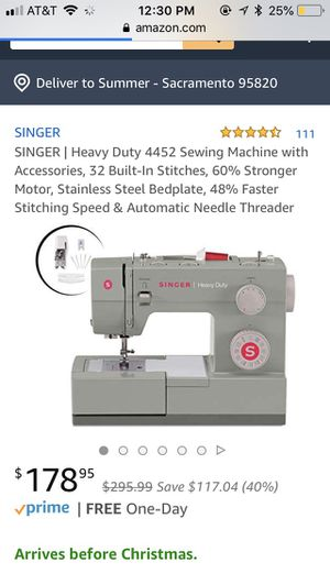 New And Used Sewing Machines For Sale In Elk Grove CA OfferUp Enchanting Used Heavy Duty Sewing Machine For Sale