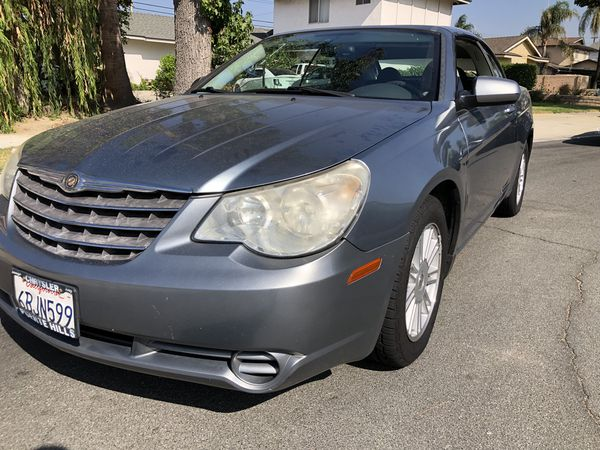 2008 Chrysler Sebring Hardtop Convertible For In Upland Ca Offerup