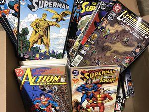 Superman comic book lot- over 100 comics for Sale in Reston, VA