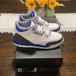 Jordan 3 Retro Racer Blue ( GS ) Thumbnail