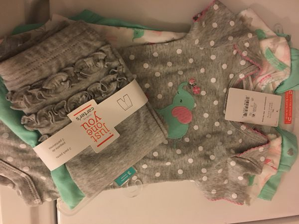 a716a5ebe New 3 month old onesies and ruffled pants for Sale in Beaverton