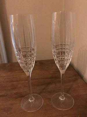 2 Champaign glasses for Sale in Riverside, CA
