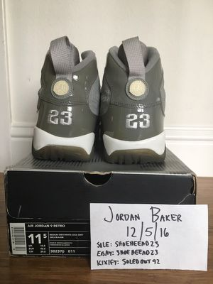 d39a1ab71c9 2002 Air Jordan Cool Grey IX 9 Size 11.5 for Sale in Oakland, CA - OfferUp