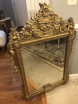 """45""""X25"""" golden Antique Wooden Mirror for Sale in Gainesville, VA"""