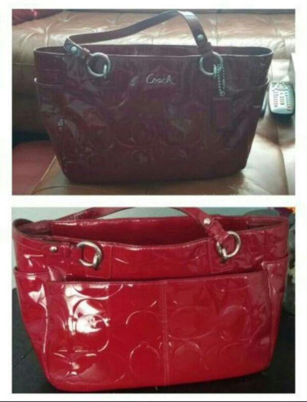 eb1eaa03df2f Dark Red Patent Leather Handbag - Foto Handbag All Collections ...