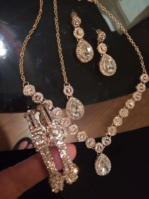 Golden jewelry set for Sale in Washington, DC