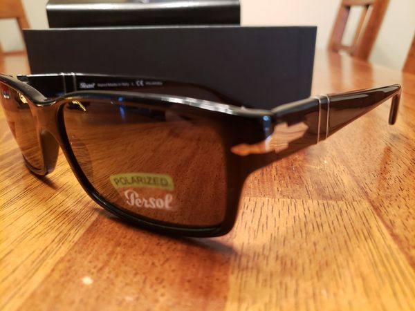 473355cdffe Persol polarized sunglasses with glass lens 2803-s for Sale in San ...