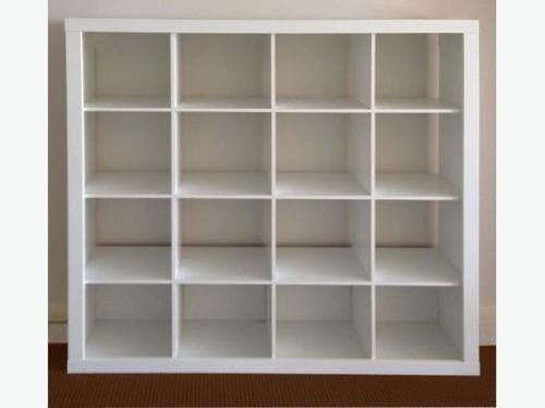 super popular 4019c 97281 Ikea kallax 4x4 white cube storage unit for Sale in Vancouver, WA - OfferUp