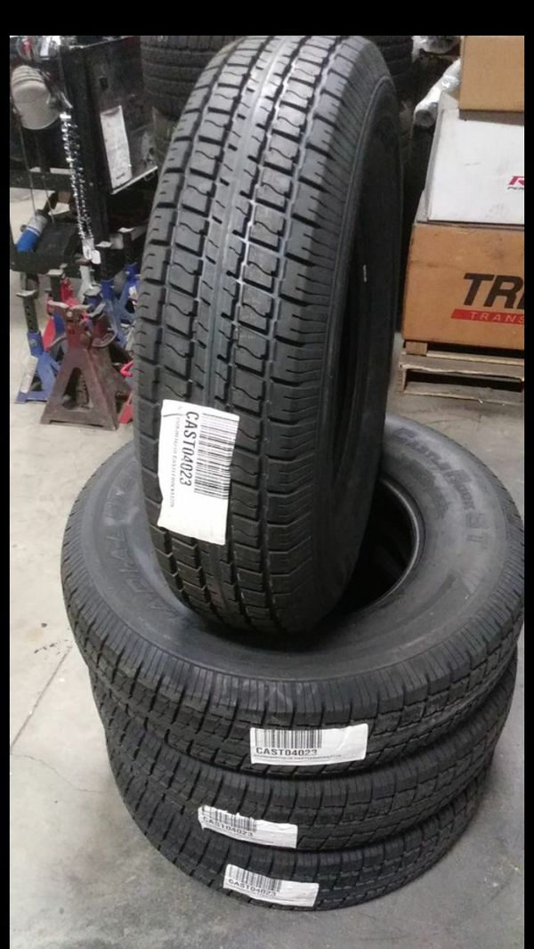 ST235-80-16 Castle Rock Trailer Tire for Sale in Ontario, CA - OfferUp