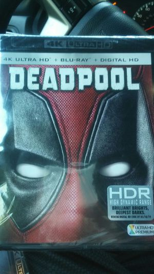 Deadpool 4K for Sale in Dallas, TX