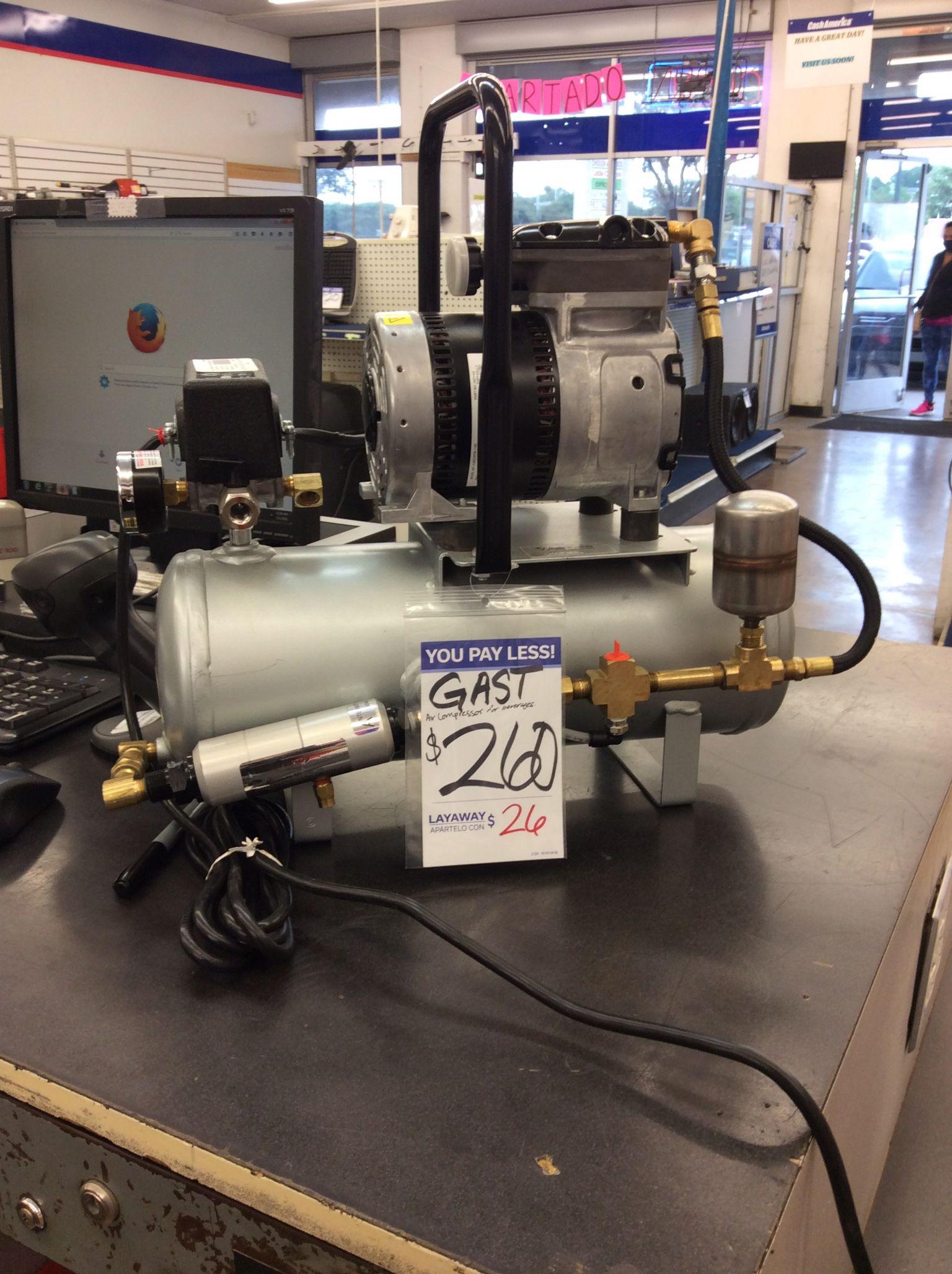 Gast Air Compressor For Beverages