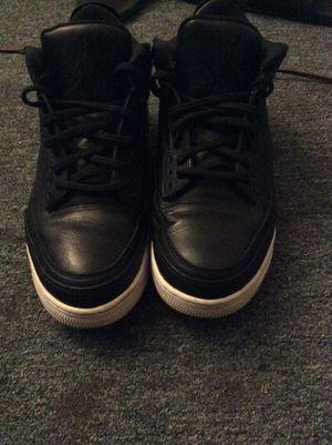 Black retro Jordan 3's sz 13 for Sale in Baltimore, MD