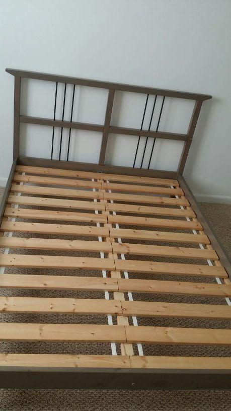 Full Bed Frame Ikea Rykene For Sale In Lauderhill FL